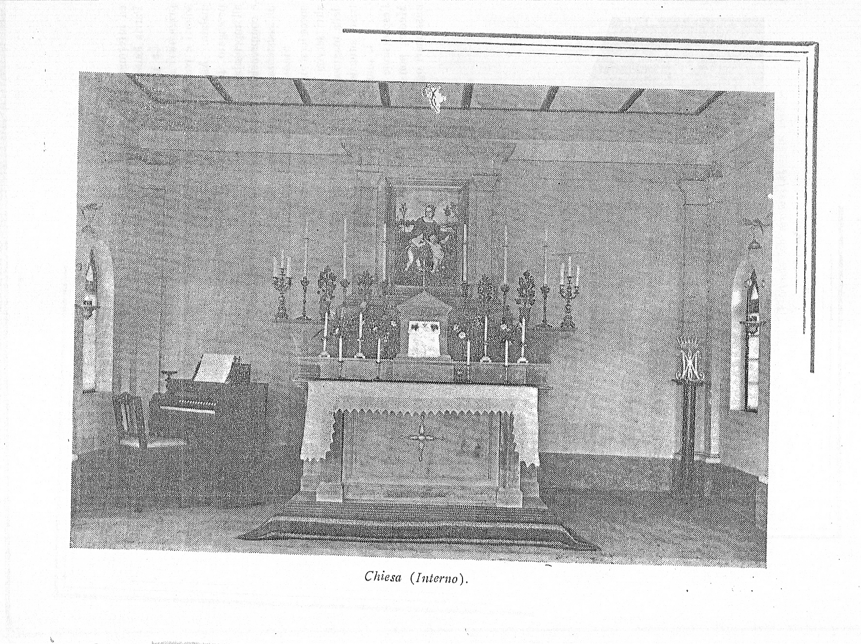 Our Lady of Graces Church Altar