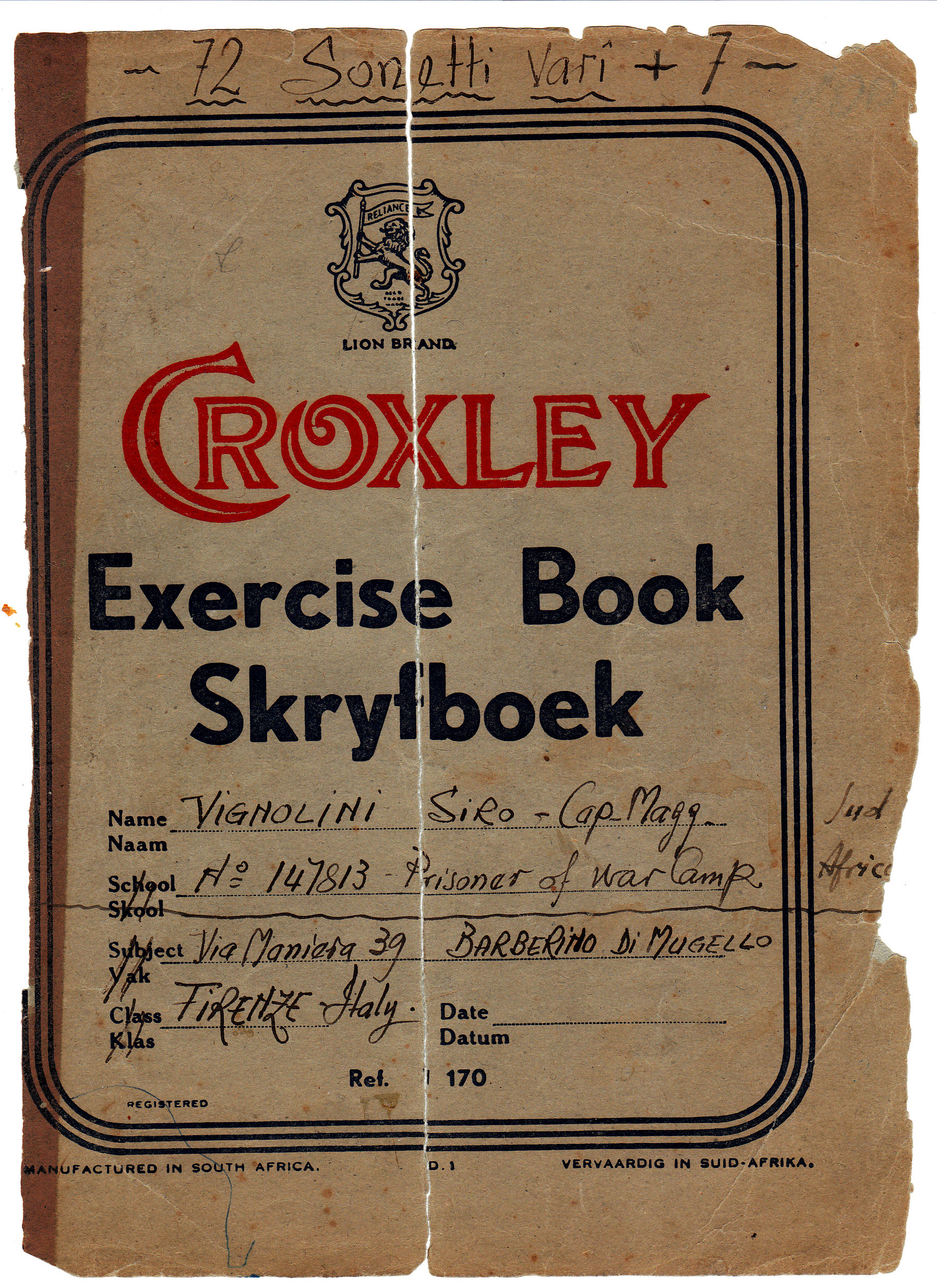 Croxley - Exsercise Book - Skryfboek